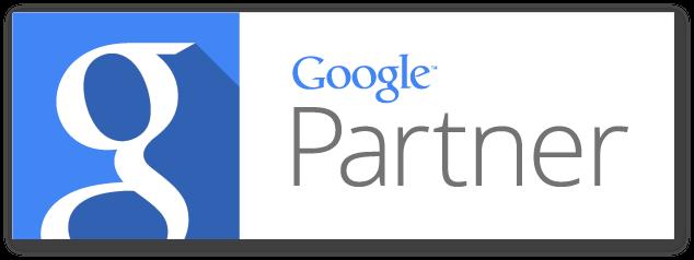 horizontal google partner badge